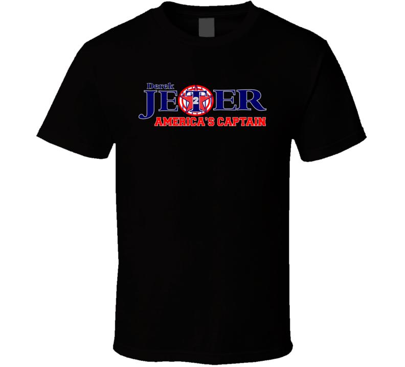 Jeter America's Captain T Shirt