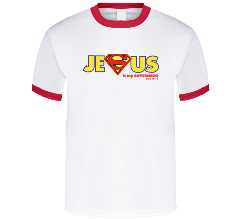 Jesus Is My Superhero For Light T Shirt