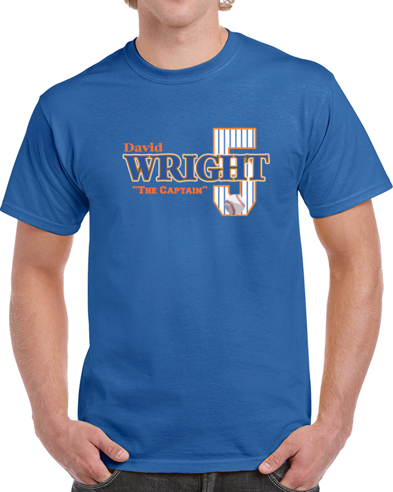 David Wright  The Captain T Shirt