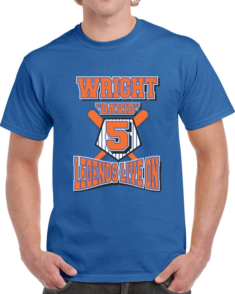 David Wright  Legends Live On T Shirt