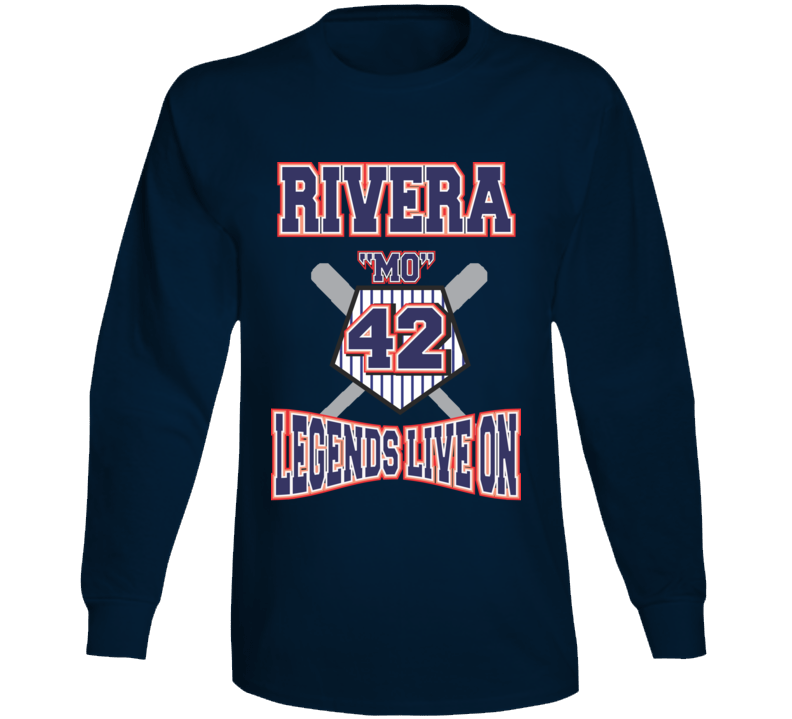 Rivera Mo Legends Live On Long Sleeve