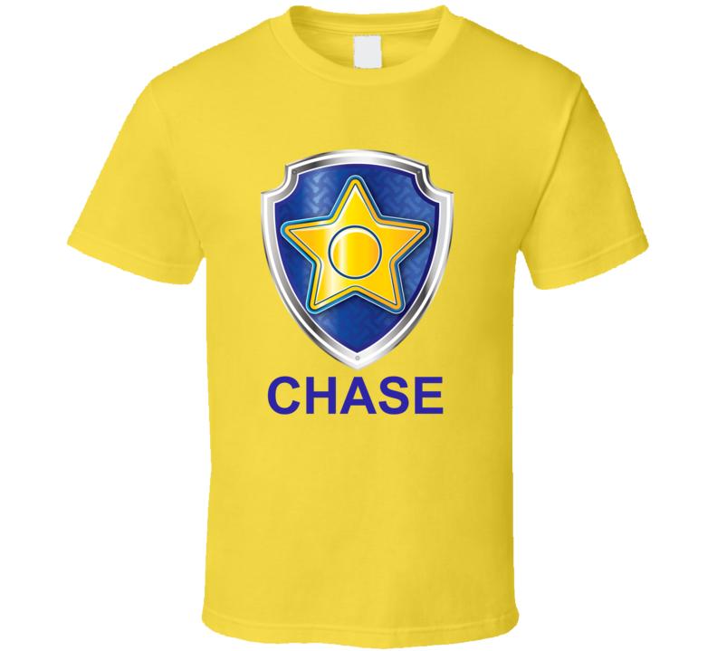 Chase Paw Patrol Kids Tv Show Fan T Shirt