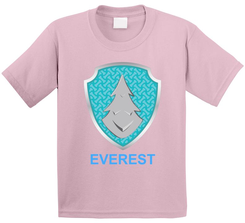 Everest Paw Patrol Kids Tv Show Fan T Shirt