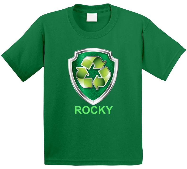 Rocky Paw Patrol Kids Tv Show Fan T ShirT