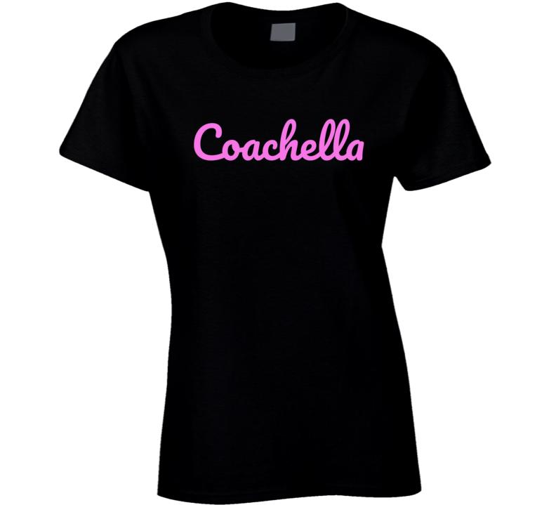 Coachella Festival Music Fan T Shirt T Shirt
