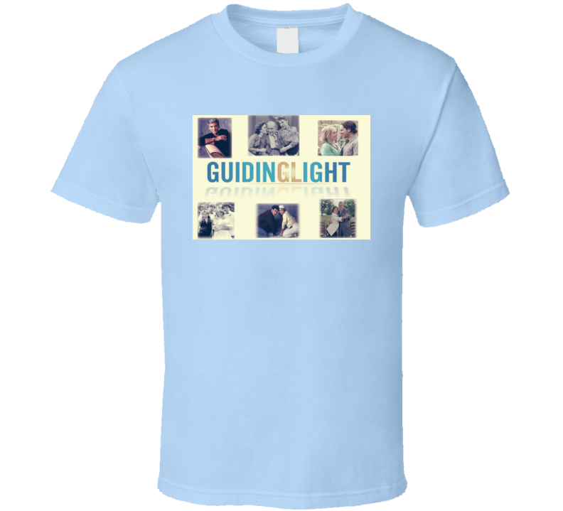 Guiding Light Soap Opera Tv Radio Show 50s Fan T Shirt