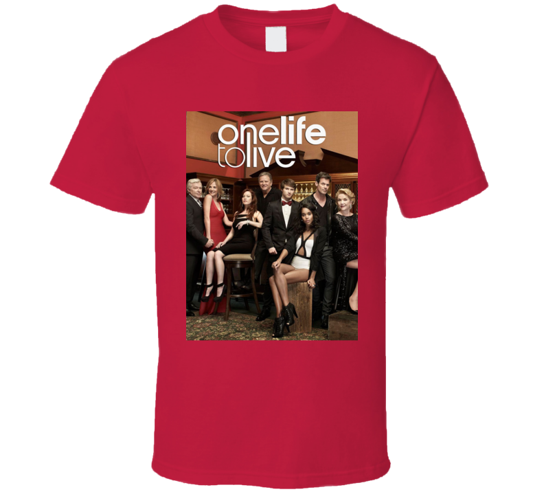 One Life To Live Soap Opera Tv Show 60s Fan T Shirt