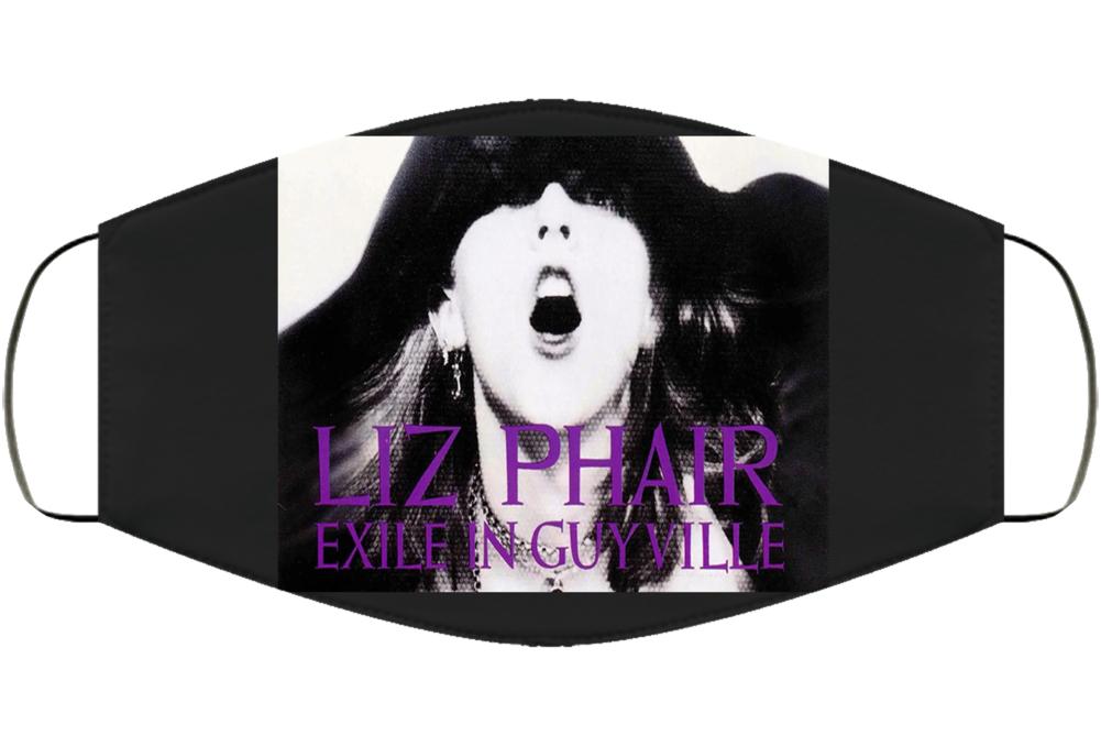 Liz Phair Exile In Guyville Album Women's Empowerment Girl Power Song Music Fan Facemask  Face Mask Cover