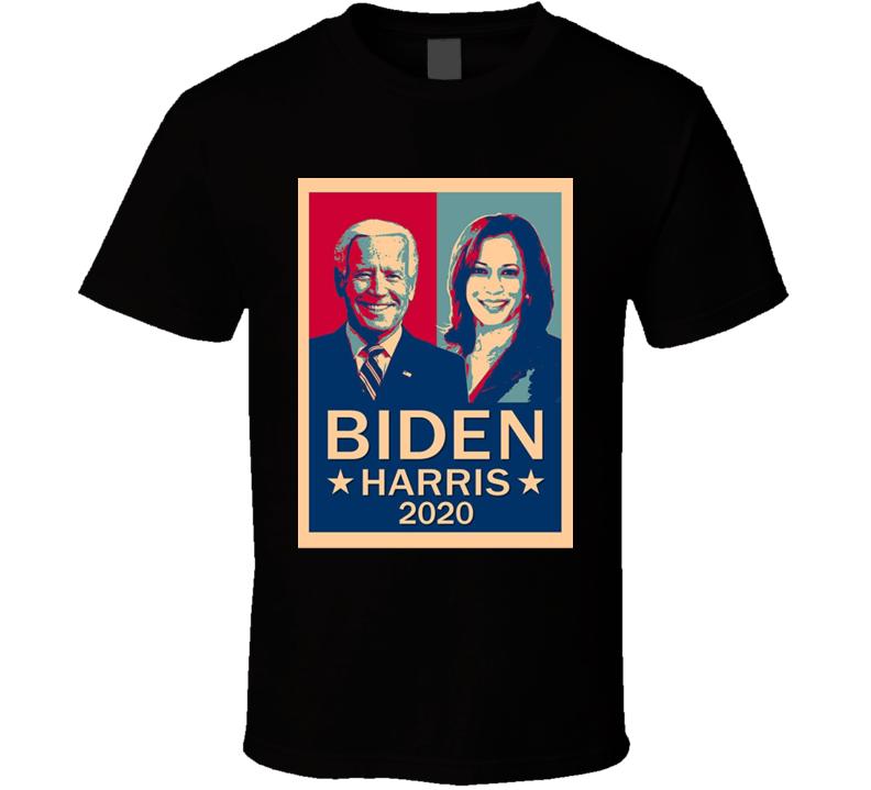Joe Biden Kamala Harris 46th President United States Of America Usa Vice President 2020 Fan T Shirt