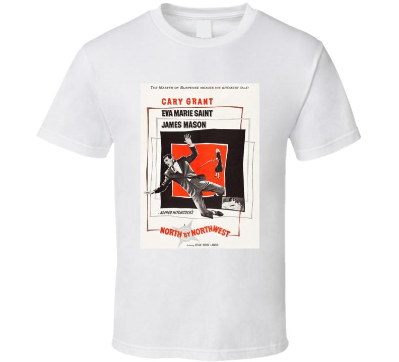North By Northwest Best Alfred Hitchcock Movie  Fan T Shirt