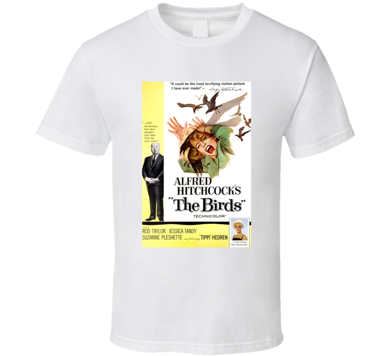 The Birds Best Alfred Hitchcock Movie  Fan T Shirt