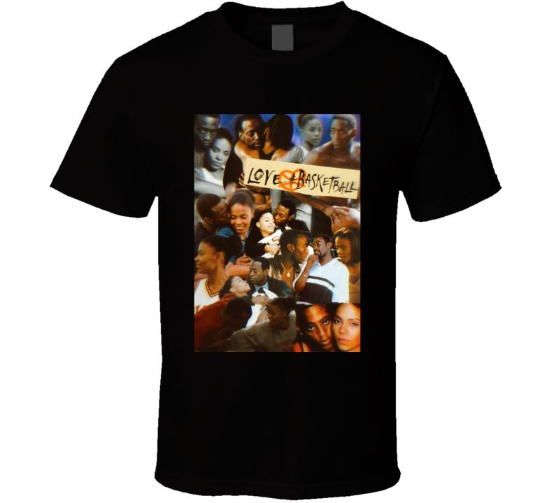 Love And Basketball Romantic Sport Movie Fan T Shirt