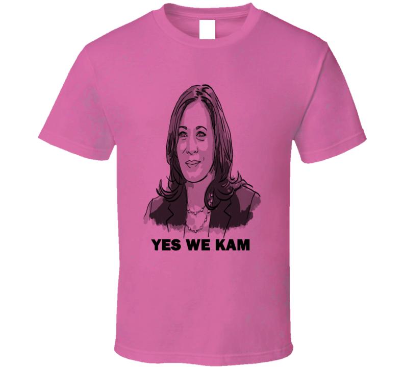 Yes We Kam Kamala Harris First Female Vice President 2020 Usa Fan T Shirt