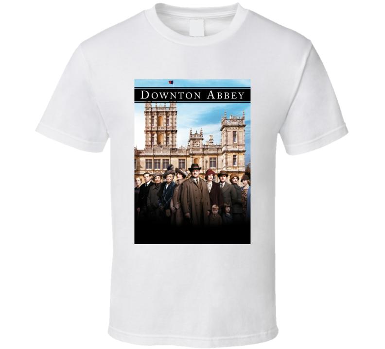 Downton Abbey Yorkshire Tv Series Drama Fan T Shirt