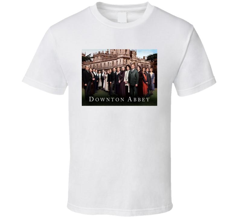 Downton Abbey Yorkshire Country Estate British Tv Series Drama Fan T Shirt