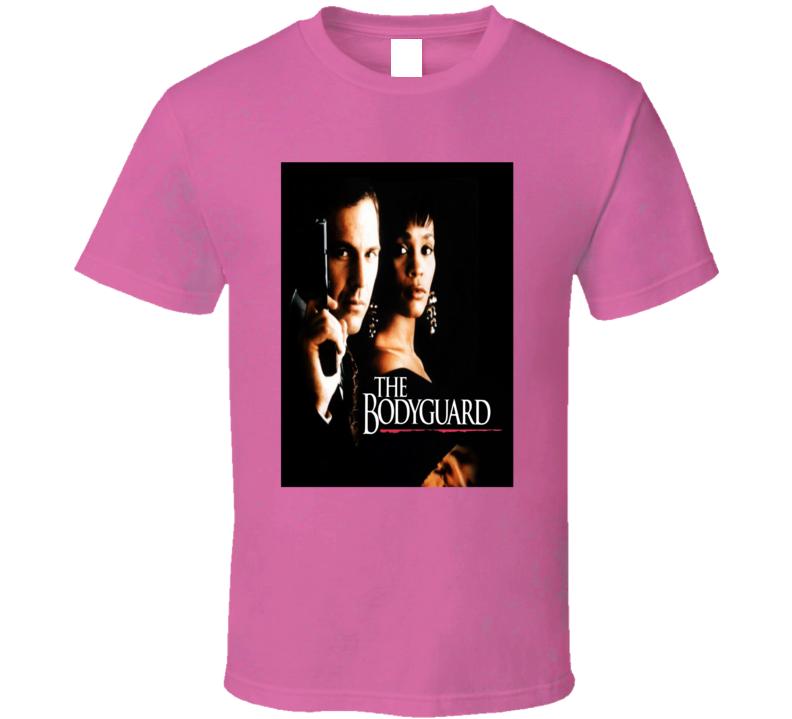 The Bodyguard 1992 Romantic Thriller Movie Fan T Shirt
