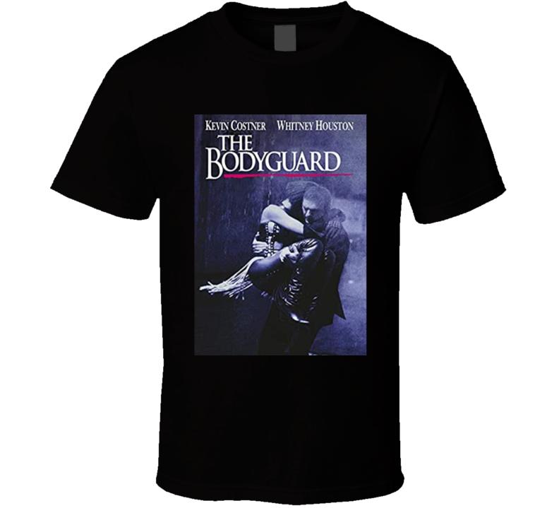 The Bodyguard Romantic Thriller 1992 Movie Fan T Shirt