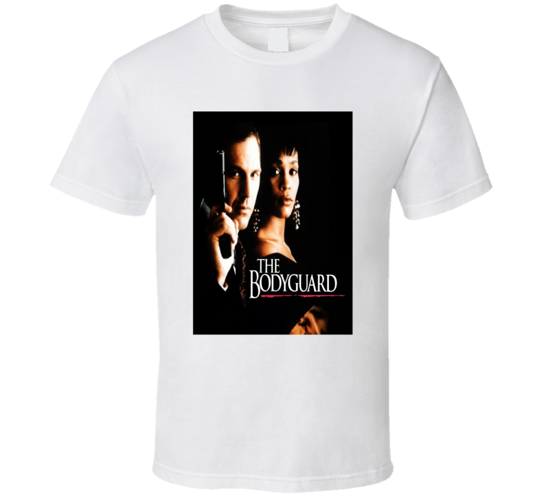 The Bodyguard Music Superstar 1992 Romantic Thriller Movie Fan T H T Shirt