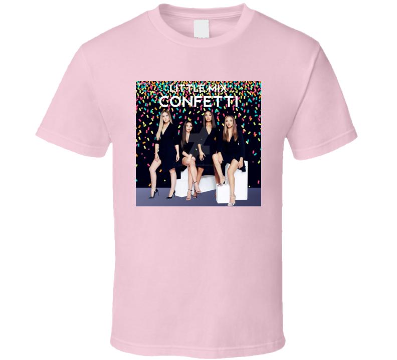 Little Mix Confetti Album 2020 Girl Group Music Fan T Shirt