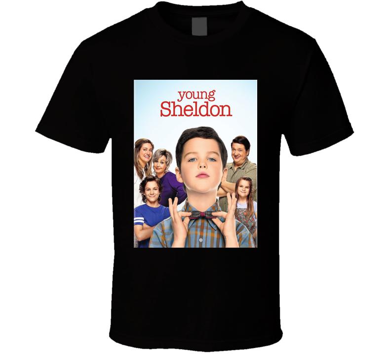Young Sheldon Comedy Tv Show Fan T Shirt