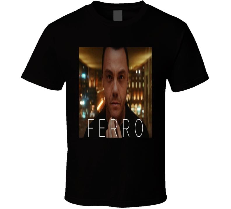 Ferro Tiziano Famous Italian Singer Movie Fan T Shirt