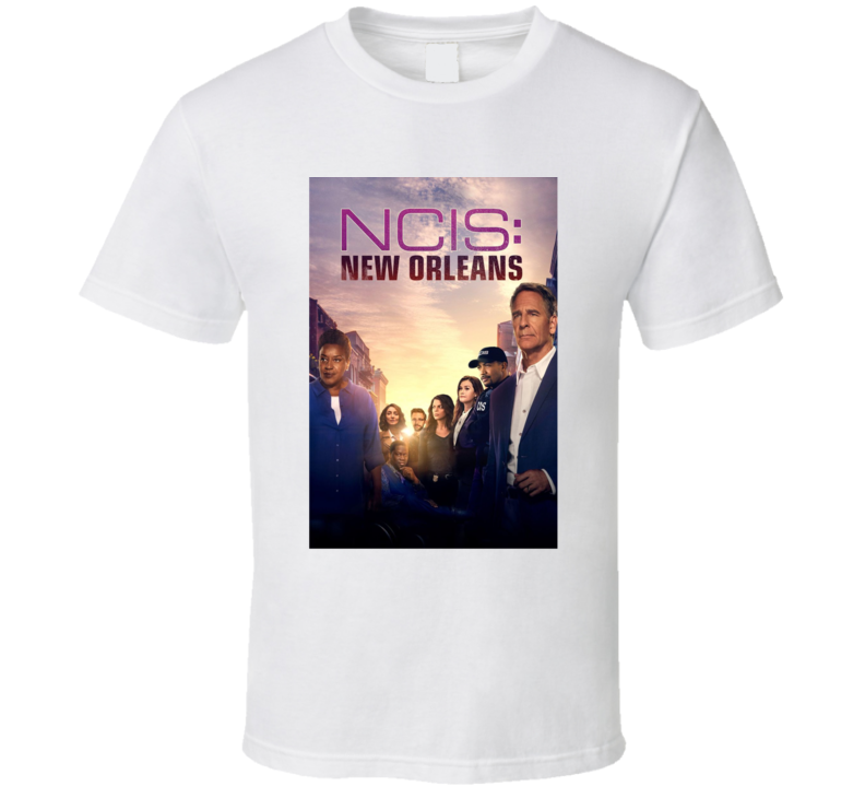 Ncis New Orleans Drama Tv Show Fan T Shirt