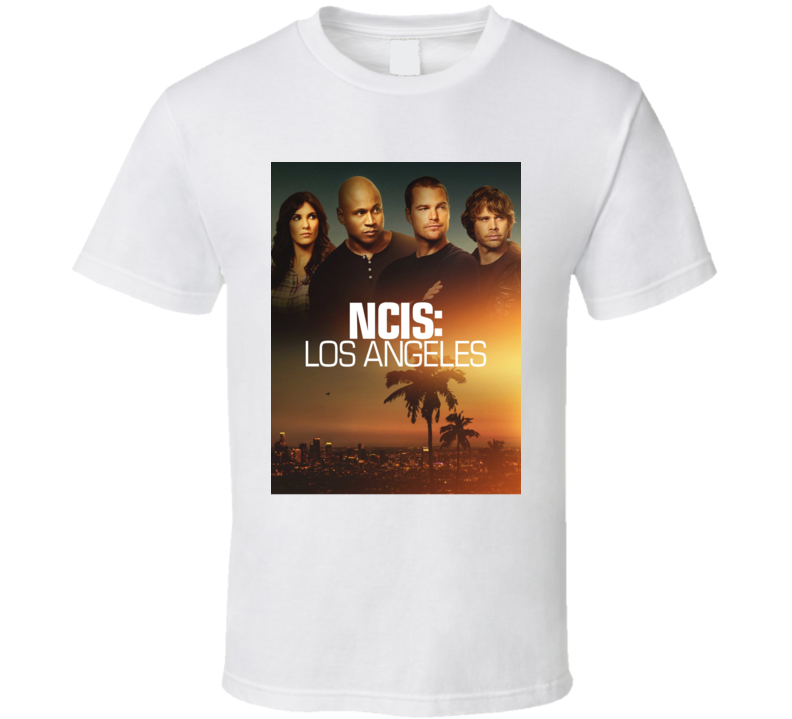 Ncis Los Angeles Action Drama Tv Show Fan T Shirt