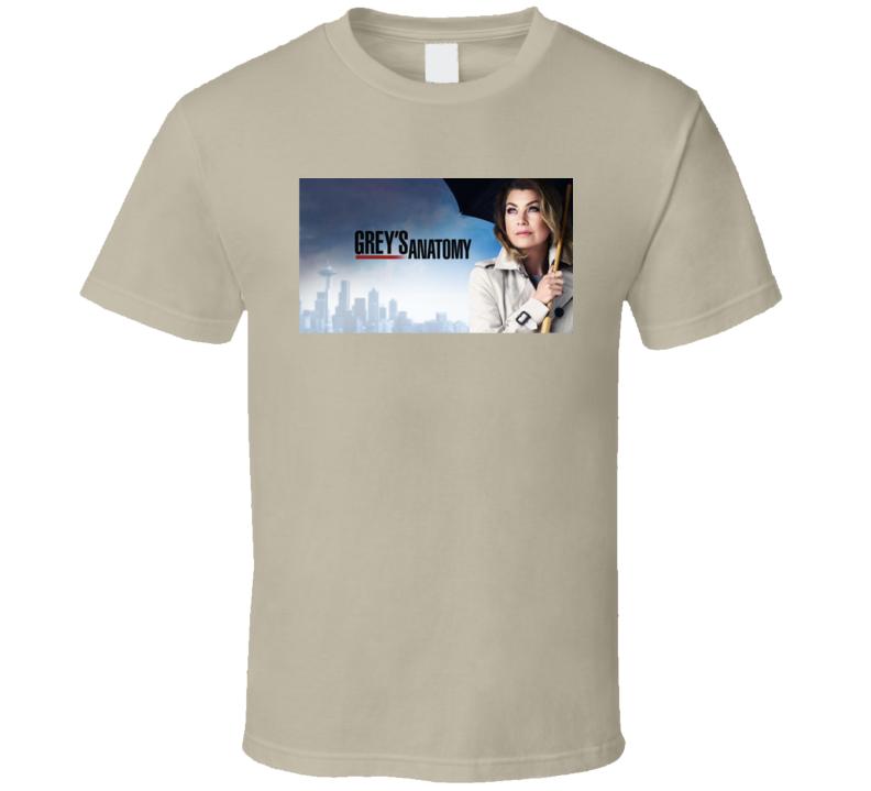 Grey's Anatomy Meredith Medical Drama Tv Show Fan T Shirt