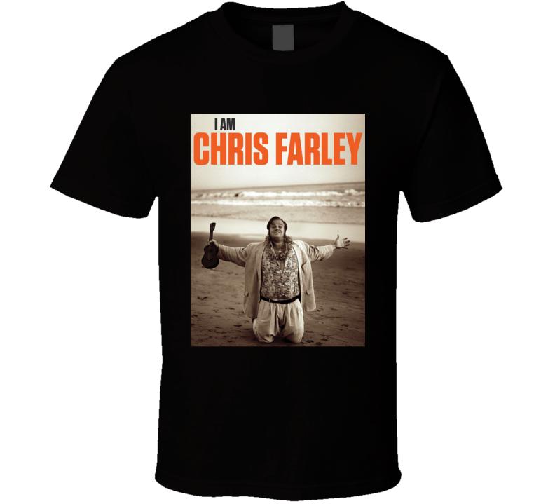 I Am Chris Farley Documentary Actor Movie Fan T Shirt