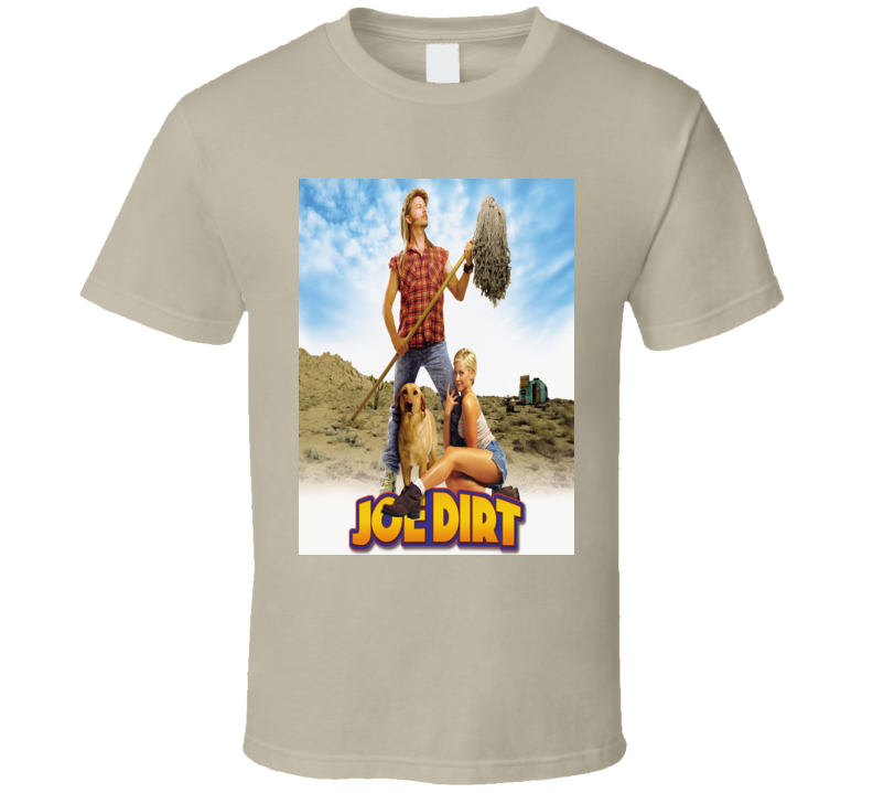 Joe Dirt David Spade Funny Comedy Movie Fan T Shirt