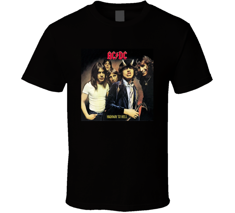 Highway To Hell Greatest Album Of All Time Music Fan T Shirt