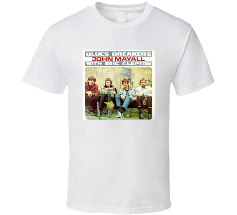 Blues Breakers Greatest Album Of All Time Music Fan T Shirt