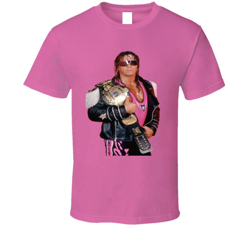 Bret The Hitman Hart Wrestling Fan T Shirt