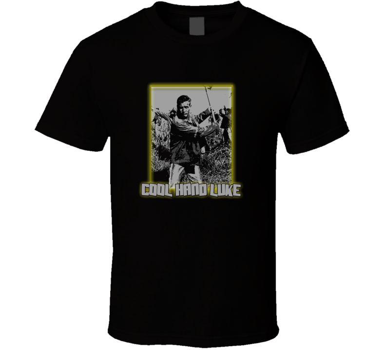 Cool Hand Luke Paul Newman prison t-shirt