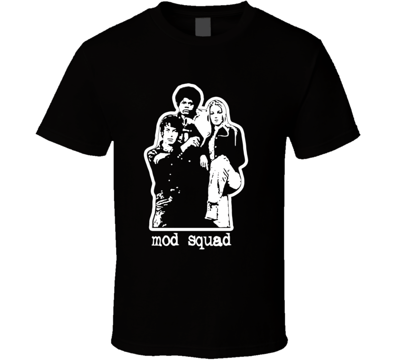 Mod Squad retro vintage TV series young detectives t-shirt