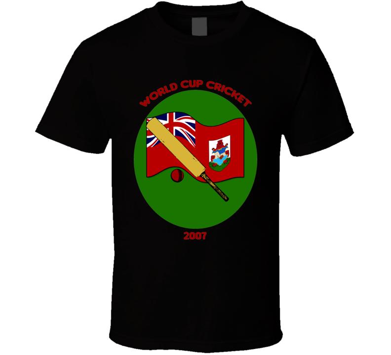 Bermuda Cricket World Cup 2007 fan t-shirt
