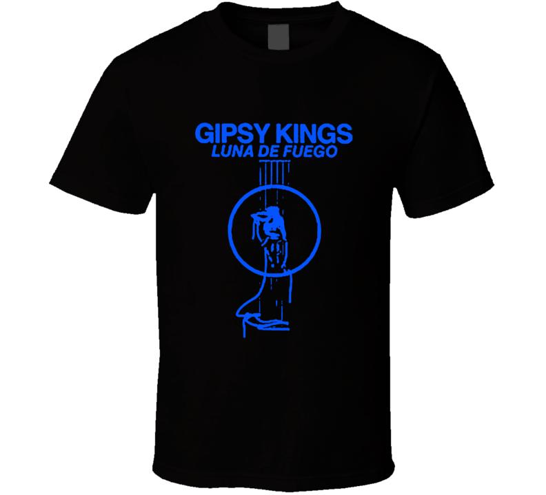 Gypsy Kings rock retro vintage Latin dance Luna Del Fuego t-shirt
