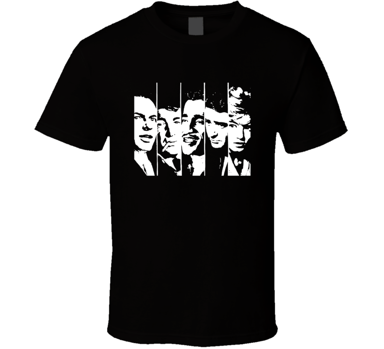 The Rat Pack Vintage music legends 50's 60's t-shirt