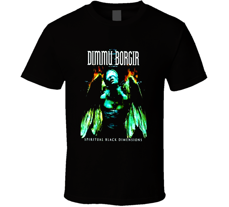Dimmu Borgir Black Metal Rock band fan t-shirt