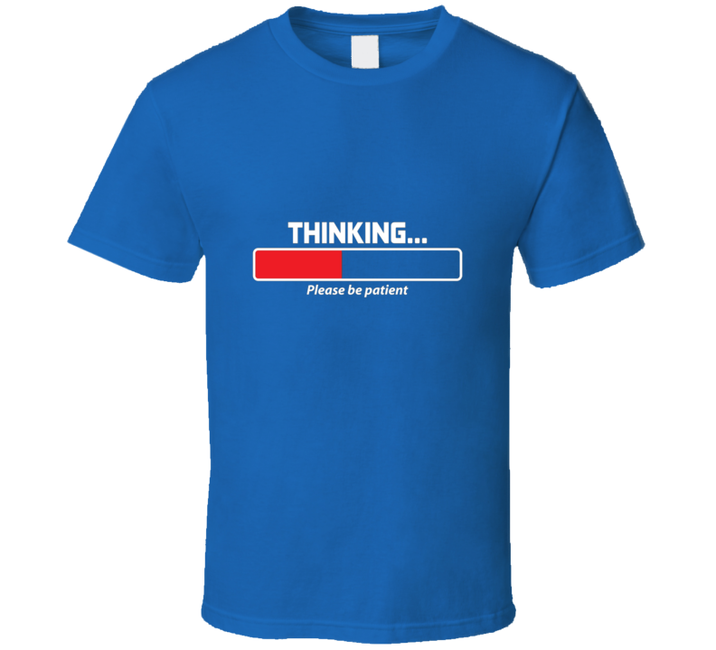 Thinking time bar t-shirt funny Mac PC People COOL