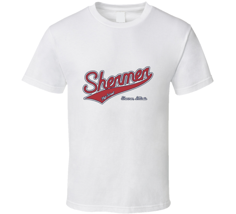 Shermer High School t-shirt Breakfast Clubh High Scholl 80's movie's