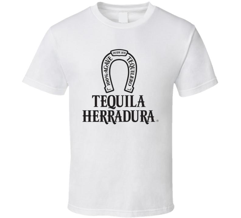Tequila Herradura t-shirt Agave Vacation Cabo Baja club swag