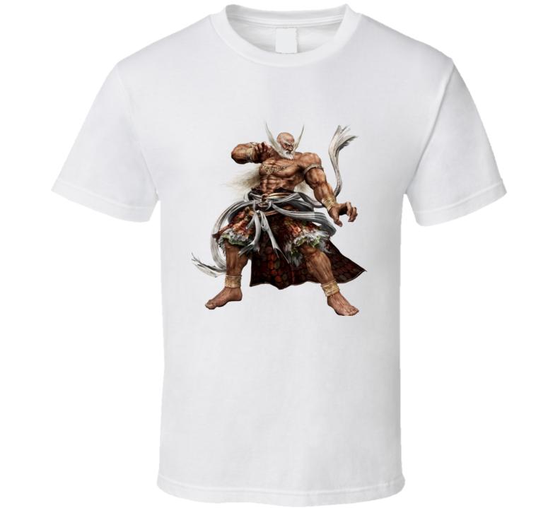 jinpachi mishima tekken 5 t-shirt Gamers video game PC games x-box playstation