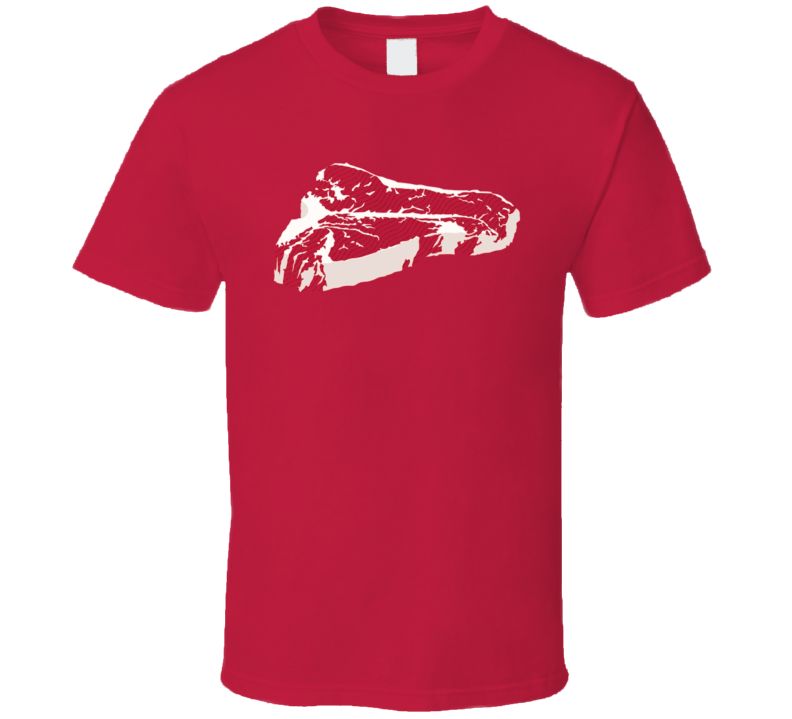 T-Bone Steak t-shirt for the Barbecue MEAT  Lover