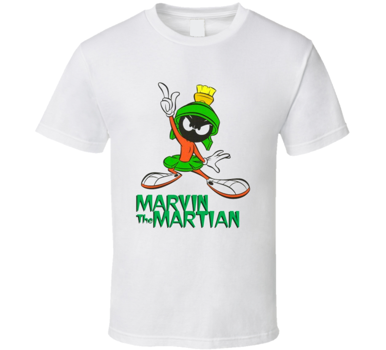 Cartoon t-shirts Marvin the Martian retro cartoons Saturday Mornings! You have made me Very Angry! t-shirt