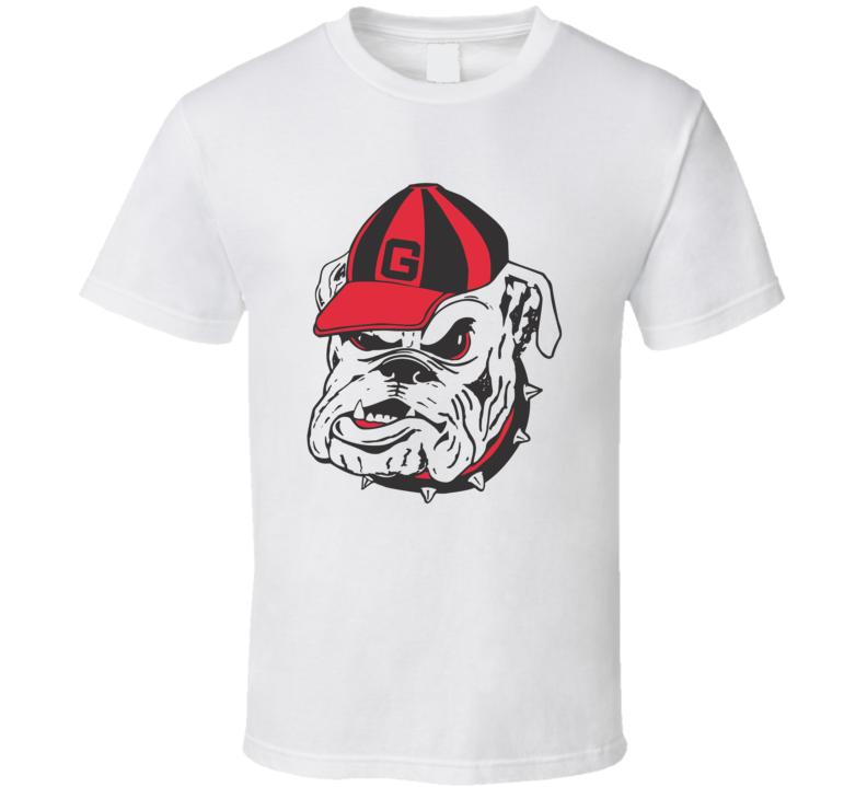 University of Georgia Bulldogs logo t-shirt College Football University t-shirt GO Bulldogs