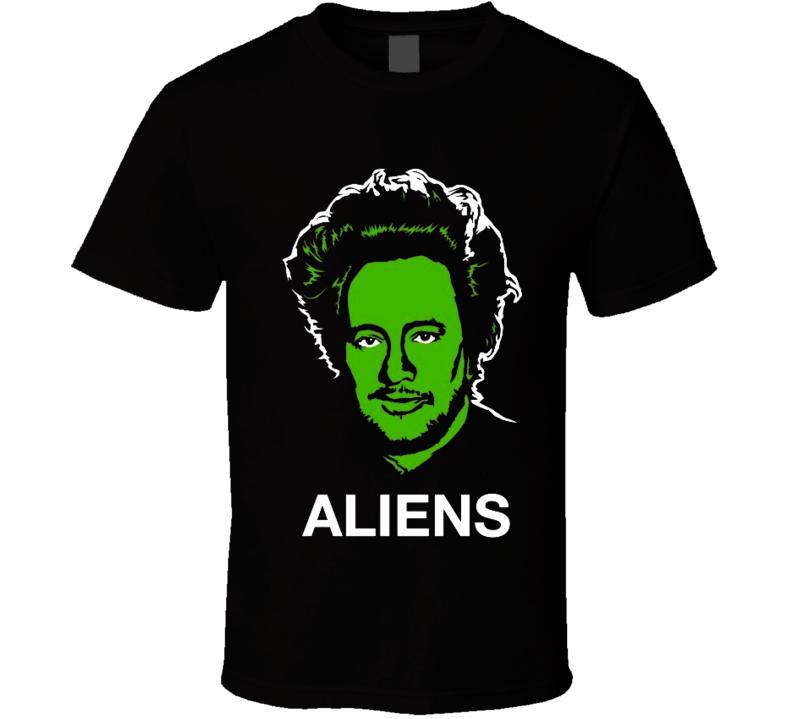 Ancient Aliens Big Hair Guy t-shirt Giorgio Tsoukalos Aliens guy t-shirt