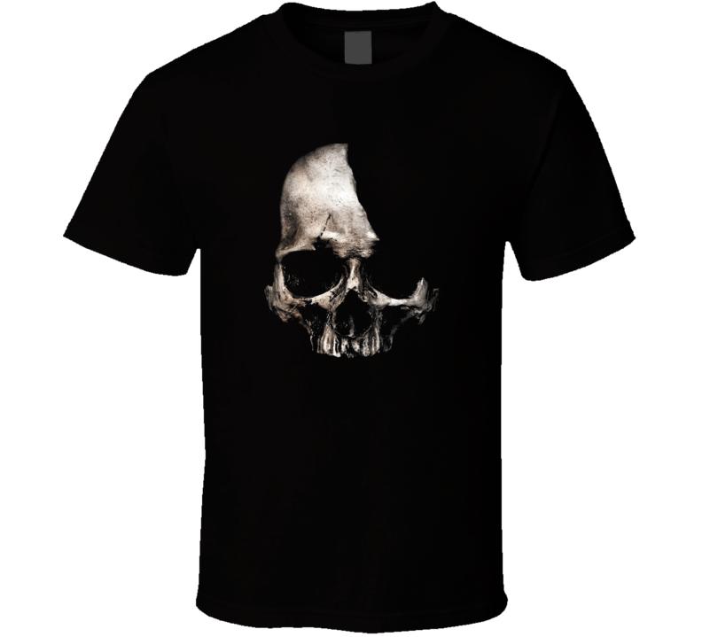 Broken Skull t-shirt Punk Rock Goth Heavy Metal COOL t-shirts
