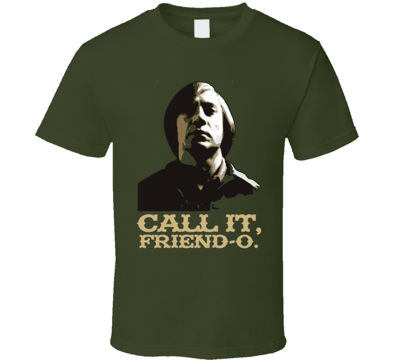 No Country for Old Men t-shirt Call it, Friend O scene Bardem Brolin Cohen Brother movie t-shirts