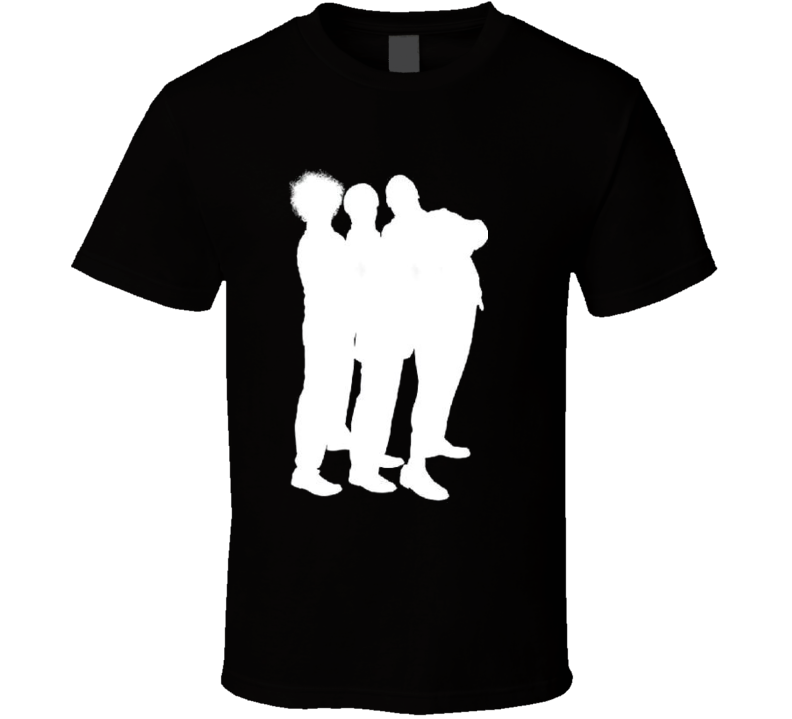 3 Stooges outline t-shirt Curly Larry Moe classic comedy slap stick retro TV Movies comedy t-shirts
